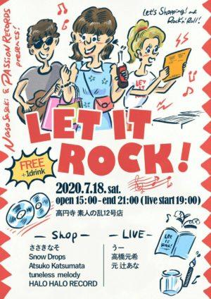 LET IT ROCK! @ 素人の乱12号店